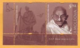 2019 Moldova Moldavie Mahatma Gandhi India Mint - Mahatma Gandhi