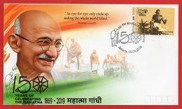 Indonesia 2019 FDC Mahatma Gandhi Of India 150th Birth Anniversary - Indonesia