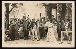 Postkaart / Postcard / CPA / Le Sacre De Napoléon Film Muet REX / 2 Scans / Napoléon Ier / Une Fête à La Malmaison - Cinema