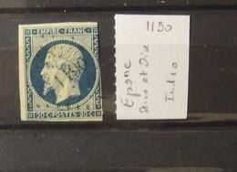 02 - 20 // France N°14 Oblitéré PC 1190 - Epore  - Seine Et Oise  - Indice 10 - 1853-1860 Napoleone III