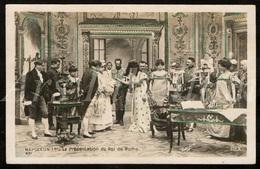 Postkaart / Postcard / CPA / Le Sacre De Napoléon Film Muet REX / 2 Scans / Napoléon I / La Présentation Du Roi De Rome - Cinema