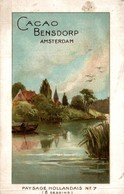 Cacao Bensdorp  Amsterdam Paysage Hollandais - Other