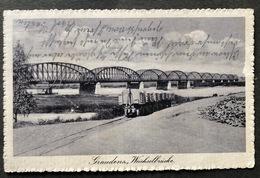 Graudenz Wechselbrücke Zug/ Feldpost - Pologne