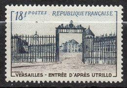 1954---tp  N° 988 -- Grille D'entrée Du Chateau De Versailles 18F  -- Cote  11  € --..............à Saisir - Frankreich