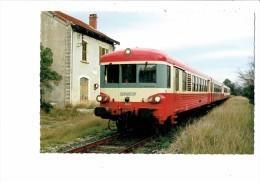 Cpm - 66 - CATLLAR - X 4607 - 2007 - Locomotive Train S.N.C.F. Voie Ferrée - Gare - - Francia