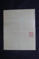 GUADELOUPE - Entier Postal Type Groupe + Réponse - Non Circulé - L 54216 - Lettres & Documents