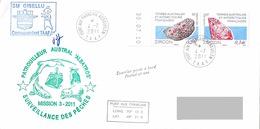 TAAF - Patrouilleur Albatros - Ile Kerguelen. Base Port Aux Français. Mission N°3/2011. Police Des Pêches. - Brieven En Documenten