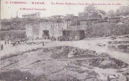 Afrique - Ethiopie - Harar - Porte Fallana - Hôpital Français - Editeur Saint-Lazarre Diré-Daoua Par Djibouti - Ethiopia