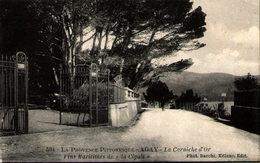 """83 - AGAY - La Corniche D'Or - Vins Maritimes De """"La Cigale"""" - Sonstige Gemeinden"""