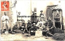CPA Photographie Militaria 7 ème Régiment Chasseurs à Cheval Camp De Chalons 1911 - France
