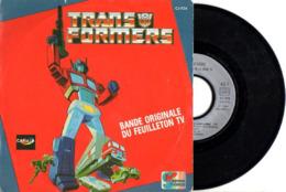 SUPER HEROS FACON GOLDORAK - RARE SP SERIE TELEVISEE TRANSFORMERS - B.O.F FEUILLETON CANAL + 1985 - TB ETAT - - Niños