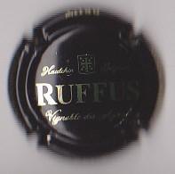 Capsule Mousseux ( Vignoble Des Agaises - RUFFUS Brut - Haulchin Belgium - Noir Et Or ) {S08-20} - Mousseux