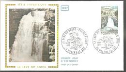 F D C  1973  SAUT DU DOUBS - FDC