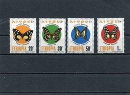 ETHIOPIA 1993 Butterflies.MNH. - Ethiopie