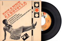 TRES BEL EP SUZANNE GABRIELLO QUI PARODIE FERRAT AZNAVOUR BECAUD ET MACIAS - 1965 - JE M'VOYAIS DEJA + 3 - EXC ETAT - - Humour, Cabaret