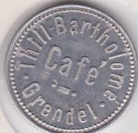 Jeton - Token - Café Thill Bartholomé - GRENDEL - LUXEMBOURG - Noodgeld