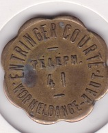 Jeton - Token - ENTRINGER COURTEL - WORMELDANGE - LUXEMBOURG - Notgeld