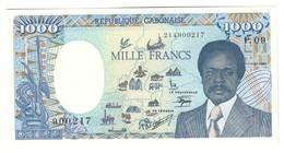 GABON1000FRANCS01/01/1990P9UNC.CV. - Gabon