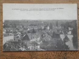 CPA (86) Vienne - MONTMORILLON - Vue Générale, Prise De La Tour De La Vierge Du Château - Montmorillon