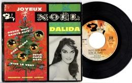 EP DALIDA - JOYEUX NOEL - 1960 - BARCLAY 70348 - - Weihnachtslieder