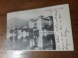 Cartolina Postale Primi 1923, Gravedona Lago Di Como, Palazzo Frova - Como
