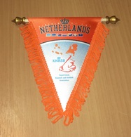 DUTCH BASEBALL SOFTBALL FEDERATION - PENNANT – NETHERLANDS - HOLLAND - FLAG - BANNER - Kleding, Souvenirs & Andere