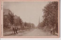 A J DE JONG NIEUWSTRAAT HENGELO NEDERLAND HOLAND 16*10CM Cabinet  Photograph - Fotos