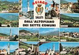 Cartolina Asiago Vedute Altopiano Dei Sette Comuni - Vicenza