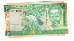 GAMBIA10DALASIS1996P17UNC.CV. - Gambia