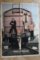SP-9/Rare Poster,de Middle Of The Road Est Un Groupe De Pop écossais,populaire En Europe Au Début De 1970 /forma 60x43cm - Musique
