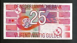 [NC] PAYS - BAS / NETHERLANDS / OLANDA - 25 GULDEN  (1989) - [2] 1815-… : Regno Dei Paesi Bassi