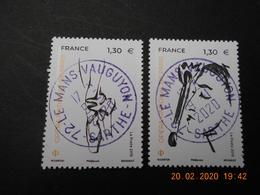 FRANCE 2019    350 ANS OPERA  NATIONAL PARIS ( 2 Timbres)   Beaux Cachets  Ronds Sur Timbres Neufs - Oblitérés