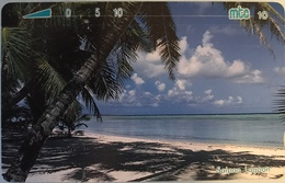 "MICRONESIE  -  Phonecard  - "" Tamura "" - Regatta -  Mtc 10 - Micronésie"