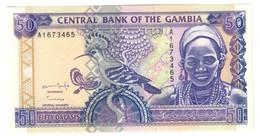 GAMBIA50DALASIS1996P19UNC.CV. - Gambia