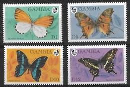 GAMBIA 1994 BUTTERFLIES MNH - Schmetterlinge