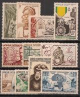 AOF - 1948-55 - N°Yv. 43 à 53 - Complet - 11 Valeurs - Neuf Luxe ** / MNH / Postfrisch - Neufs