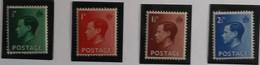 Gran Bretaña: Año. 1936 - Serie, CPTA. 4/Val. ( Rei Eduardo VIII ) Filigrana. 125 - 1902-1951 (Re)