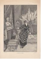 La Comtesse De Candale - Estampes & Gravures