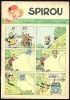 """SPIROU N° 650 -  Année 1950 - Couverture """"SPIROU"""" De FRANQUIN. - Spirou Magazine"""