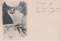 Bx - Cpa CAUTERETS (Hautes Pyrénées) - Cascade Cerizet (écrite En 1899, Cachets Gand Et Lourdes) - Cauterets