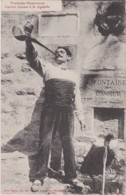 Bx - Cpa PRATS De MOLLO  ?? (Pyrénées Orientales) - Catalan Buvant à La Régalade - Frankrijk