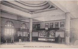 Bx - Cpa PERPIGNAN - Intérieur De La Gare - Perpignan