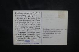 PÔLE NORD - Carte Postale ( Ours Blanc ) Publicité Médicale Sébarène - L 54277 - Polar Philately