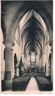 CPA REMIREMONT Interieur De L Eglise - Remiremont