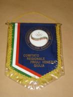 ITALIAN BASEBALL SOFTBALL FEDERATION - FRIULI VENEZIA GIULIA - PENNANT - FLAG - BANNER - ITALY - Kleding, Souvenirs & Andere