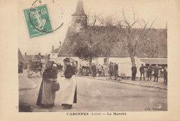 45 /  Varennes  :  Le Marché    /////   Ref. FEV. 20  ////  BO. 45 - Frankrijk