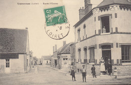 45 /  Varennes  :   Route D'Oussoy   /////   Ref. FEV. 20  ////  BO. 45 - Frankrijk