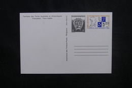 T.A.A.F. - Entier Postal Non Circulé - L 54279 - Entiers Postaux
