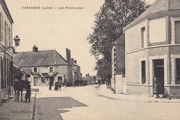 45 /  Varennes  :   La  Promenade     /////   Ref. FEV. 20  ////  BO. 45 - Frankrijk