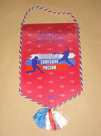 RUSSIAN SOFTBALL FEDERATION PENNANT - FLAG - BANNER - CARROUSEL - RUSSIA - Kleding, Souvenirs & Andere